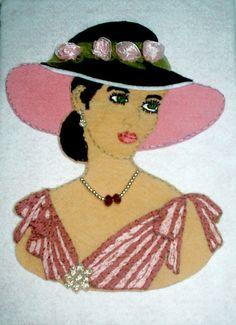 Moldes e Riscos para patchwork embutido | Artesanato & Humor de Mulher