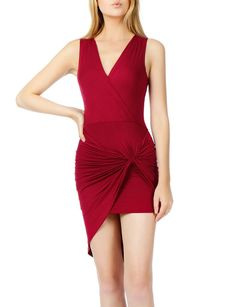 Womens Lightweight Side Draped Bodycon Dress with Stretch from Shop more products from on Wanelo. Dress Me Up, I Dress, Wrap Dress, Prom Dresses 2018, Women's Dresses, Night Out Outfit, Feminine Dress, Crossover, Stylish Outfits