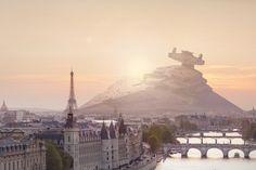 Wenn Star Wars Schlachtschiffe auf der Erde landen