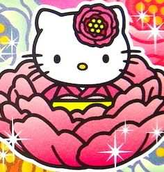 Hello Kitty / the Peony of Nishiaraidaishi JAPAN