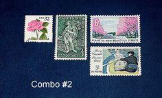 Reserved Custom order for jenniferdomeier1  Unused Vintage US postage stamps for mailing Wedding invitations. Sold by TreasureFox, $200.00