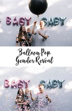 The cutest baby gender reveal! Gender Reveal Balloon Pop, Multicultural Wedding, Baby Gender, Reveal Parties, Workout, Baby Essentials, Pregnancy Tips, Party Planning, Cute Babies