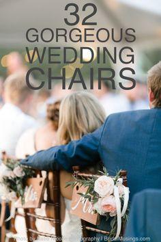 32 Gorgeous Wedding Chairs | Bridal Musings Wedding Blog
