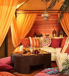 Northern Africa inspired room Urso Designs