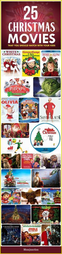 Christmas time is here. You may be looking for some good Christmas movies for kids as a part of festive happenings. Here are the must watch movies list.