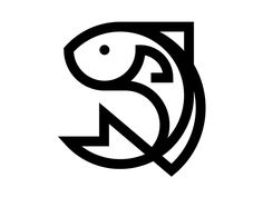 Discover more of the best Saratravis and Logo inspiration on Designspiration Web Design, Fish Design, Icon Design, Graphic Design, Logo Inspiration, Fish Icon, Shark Logo, Animal Logo, Animal Design