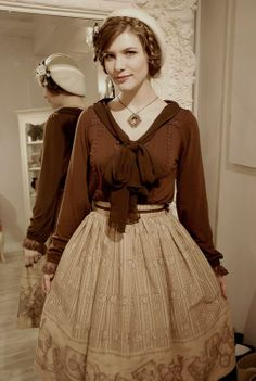 Classic lolita, but now doing 20s/30s style. Lolita is SUCH a flexible style!