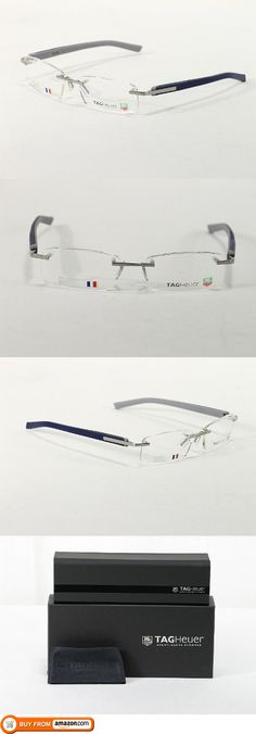 d864c115bd TagHeuer Eyeglasses 8108 TH8108 004 Pure Blue Tag Heuer Optical Frame