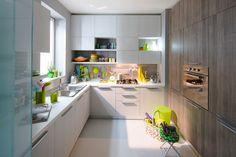 Μοντερνα επιπλα κουζινας Veneta Cucine  - μοντελο START Modern Kitchen Cabinets, New Homes, Table, Design, Furniture, Home Decor, Kitchens, Houses, Dekoration
