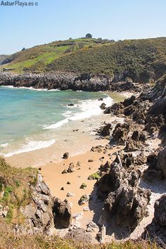 The nudist beach of Portiellu in Llanes, Asturias, Spain. Hard to find and hard to leave :)