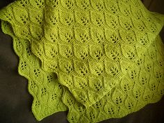 Woodland Shawl pattern by Nikol Lohr