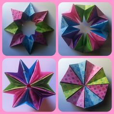 How to Make 3D Origami Magic Circle (Medium Easy)