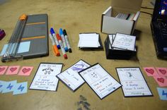 DIY Card Game: Monster Mages