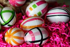 How Sweeter It Is Tissue Paper Easter Eggs