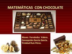 Matemáticas con chocolate, Trini, Nieves, Conchi