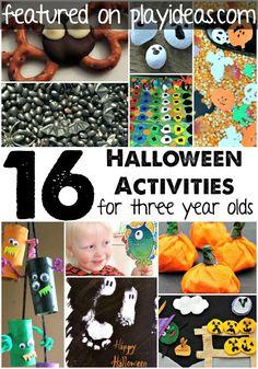 16 Halloween Activities For 3 Year Olds