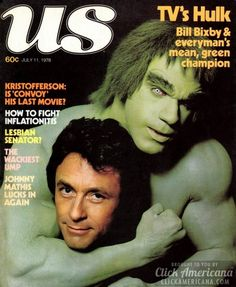 The Incredible Hulk TV show from the starring Bill Bixby and Lou Ferrigno, proved that fans liked Dr David Banner even more when he was angry. The Incredible Hulk 1978, Marvel Comics, Hulk Marvel, Marvel Art, Ms Marvel, Captain Marvel, Tv Vintage, Vintage Magazines, Paranormal