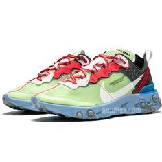 d5a90f6d46283 Nike x Undercover Epic React Element 87 Volt Lakeside Colorways BQ2718-700