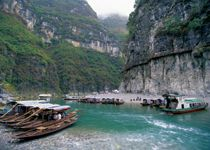 Sailed down Xiling Gorge, the longest of the gorges. Amazing scenery. http://www.gct.com/Trips/2012/China-and-the-Yangtze-River-2012/Trip-and-Air-Details/Itinerary/Beijing-to-Hong-Kong.aspx#Day4 #China #XilingGorg