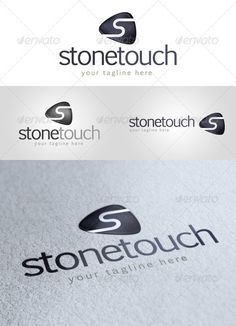 Stone Touch' - Logo Design Template Vector #logotype Download it here: http://graphicriver.net/item/stone-touch-logo/1935881?s_rank=95?ref=nexion