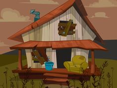 What do you think about Uncle Bobba's house?