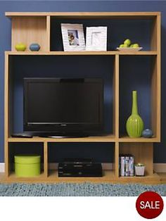 TV Room Divider Idea