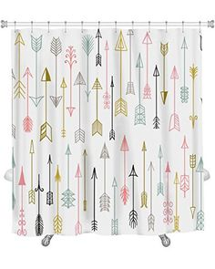 """""""Hand Drawn Arrows Collection"""" by Gear New.  ($38.79 & Free Shipping). Premium Shower Curtain."""
