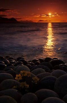 Midnattssola, lyst hele natta! North Norway