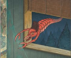 Amikiri- Japanese folklore: a small crustacean that has a long, segmented body and tiny scissor like claws with a bird beak. It cut up mosquito nets and fishing nets.