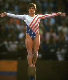 Mary Lou R. Such a memorable moment. #gymnastics