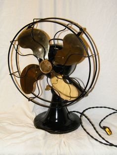 Antique emerson fans dating