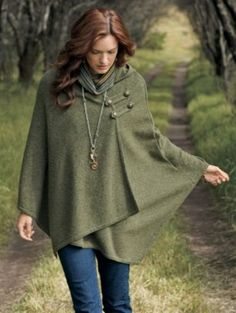 Would you believe me if I said I passed up an $8 austrian wool green cape on friday? Regret of the year.