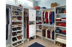 Jez Enterprises offers professional assembly and installation of all products purchased from ClosetMaid. Home Depot Closet Organizer, Closet Organization, Corner Unit, Beautiful Homes, The Unit, Home Decor, House Of Beauty, Interior Design, Home Interior Design