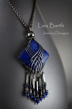 DIY Wire Wrap Pendant Necklace Design