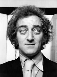 Marty Feldman (comedian) - Died December 2, 1982. Born July 8, 1933. He starred in several British television comedy series, including At Last the 1948 Show and Marty, the latter of which won two BAFTA awards. He was the first Saturn Award winner for Best Supporting Actor for his role in Young Frankenstein.