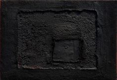 Antoni Tàpies. My father loves his work. It took me a long time to appreciate what he does (did) . Like Rothko his work has to bee seen in real life to feel the textures and how elegant hi is