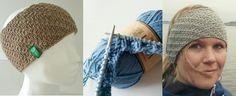 Da er endeleg mønster på strikka pannebånd med vri klart, og eg deler det med glede med mine fine lesere. Du får oppskrift både på barne- og voksenpannebånd, det er gratis og lettstrikka. Lykke til… Knit Crochet, Crochet Hats, Fingerless Gloves, Arm Warmers, Diy And Crafts, Beanie, Winter Hats, Knitting, Fashion