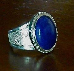 Sterling and Lapis Lazuli ring