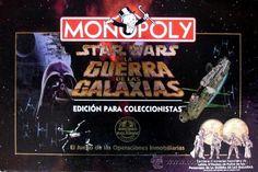 MONOPOLY STAR WARS, MONOPOLY LA GUERRA DE LAS GALAXIAS EDICION COLECCIONISTA