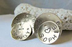 Metal Stamped Dog tags