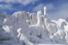 dinosaur ice sculpture - Google Search