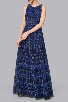 Wedding Dresses – Buy Itika Gown for Women Online – Blue – Anita Dongre Muslim Wedding Dresses, Luxury Wedding Dress, Indian Wedding Outfits, Bridal Outfits, Bridal Dresses, Indian Outfits, Backless Wedding Dress With Sleeves, Strapless Dress Formal, Indian Gowns
