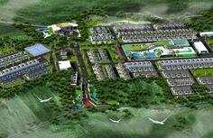 Siteplan untuk Bukit Sukanagara Resort (30 Ha)