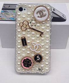 Trendy Crystal Chanel IPhone4 Case, Iphone 4s ...