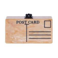 Edie Parker Jean Postal Clutch - Shop Luxury Handbags | Editorialist