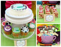 Alice in Wonderland Party Ideas cake cupcake toppers candy bar #LIVCreativity
