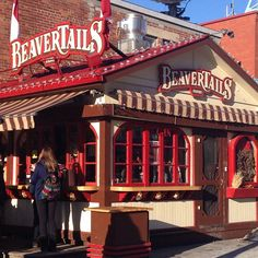 "A BeaverTail, Came highly recommended as a must have treat. A"" cant visit Ottawa without trying one"" tag"