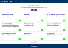 Online tools ranging in math to physics all the formulas you need. Online Generators ranging from networking to name randomizer. Online calculators that can be used for financial bookkeeping and basic math geometry. Online Converter, Online Calculator, Basic Math, Decoding, Page Layout, Physics, Link, Elementary Math, Common Core Math