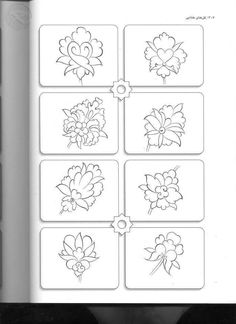 18 drawing 25 ingenious craft ideas for DIY gifts for Christmas Islamic Motifs, Islamic Patterns, Islamic Art, Persian Pattern, Persian Motifs, Flower Henna, Floral Patches, Turkish Art, Turkish Tiles