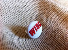 Badgers Football Fan Ring University of by ButtonsAFluttur on Etsy, $6.50